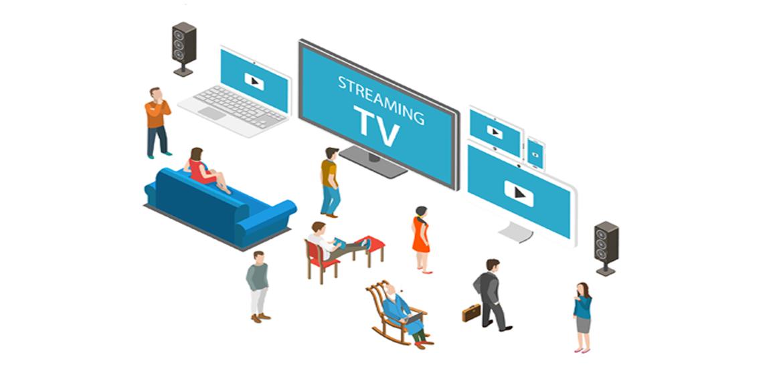 ストリーミング・テレビの世界が始まります!